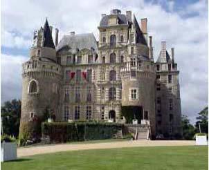 Château Brissac na Loire