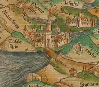 Mesto križiakov Akkon (St. Jean d'Acre)