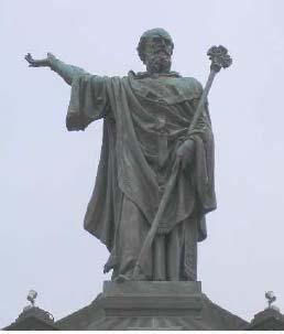Socha Urbana II. v Clermonte