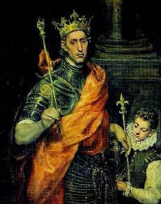 Svätý Ľudovít VII. Kráľ Francúzska